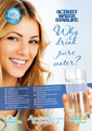 Flyer AWS Why drink pure water?, A4